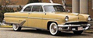 1955 Lincoln car