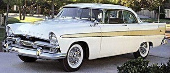 1956 Plymouth automobile