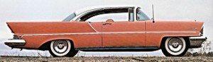 1957 Lincoln car