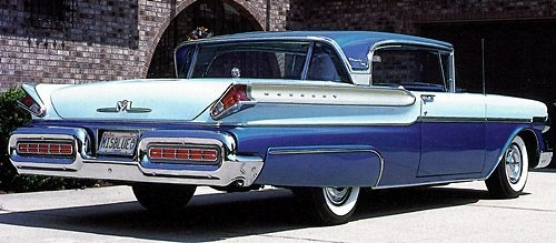 50s classic Mercury's