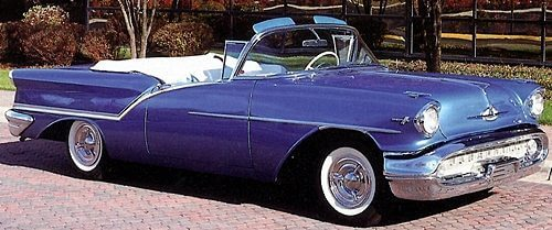 50s vintage Oldsmobiles