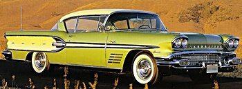 1950s classic Pontiacs