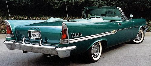 1958 Chrysler Windsor Fifties Clic Cars