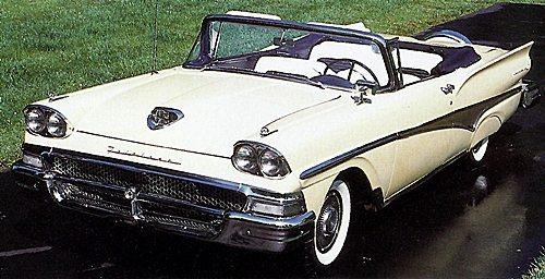 1958 Ford Faitlane 500 Sunliner