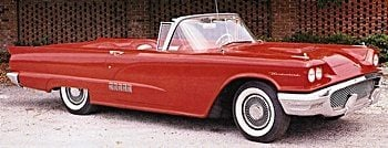 1958 Ford T-Bird Convertible