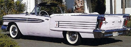 1958 Oldsmobile Super 88 Convertible