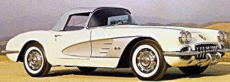1950s vintage car