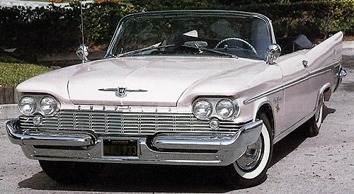 1959 Chrysler New Yorker convertible
