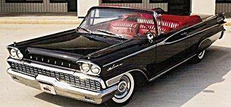1950s cars mercury 1950s vintage cars 1959 mercury park lane convertible sciox Image collections
