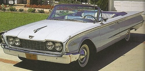 11960 Ford Galaxie Sunliner