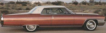 60s Cadillac cars