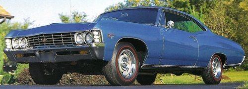 1967 Chevy Impala SS-396