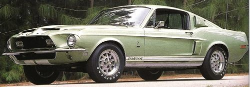 1968 Ford Mustang GT-500