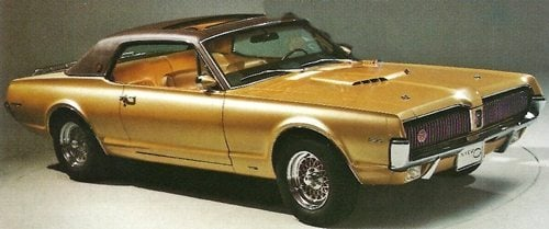 1960s lincolnmercury photo gallery 1968 mercury cougar publicscrutiny Image collections