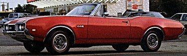 60s Oldsmobile 442