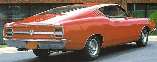 1969 Ford Fairlane Cobra GT