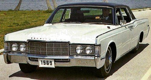 1960s classic Lincolns