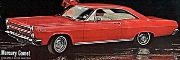 60s vintage Mercurys
