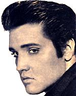 Elvis Presley in the 1950s