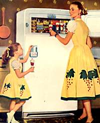 typical 1950s homelife