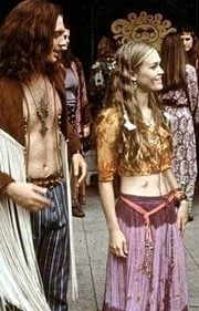 Dressing like a hippie