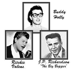 Buddy Holly, Ritchie Valens, The Big Bopper