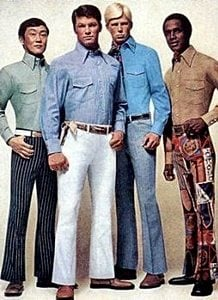 What did people wear in the 1960's?