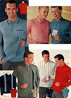 shirt styles of the 60s