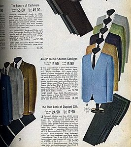 1960s mens suit selections