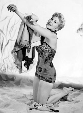 Kim Novak in a swimsuit