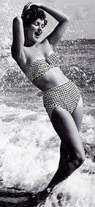 50s swim wear