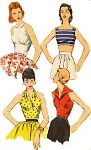 1950s tops