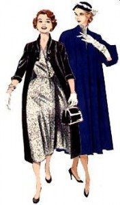 1950s winter coats