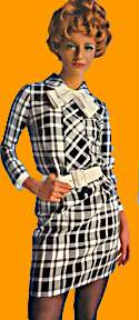 nice shirtwaist 60's dress