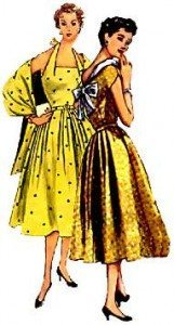 1950s fancy dresses
