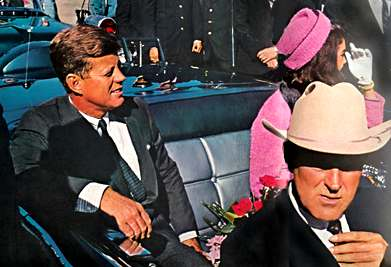 kennedy in limo