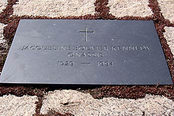 Jackie Kennedy's Grave