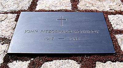 John F Kennedy grave