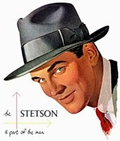 1950s mens hat