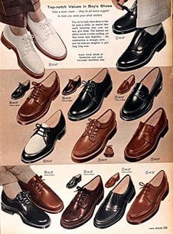 50s men's shoes