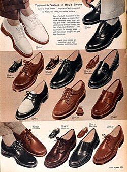 50s men's shoes