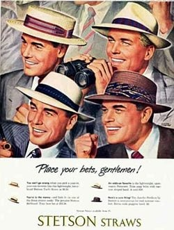 50s hats for men