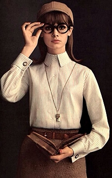 1960s fashion models - Jean Shrimpton