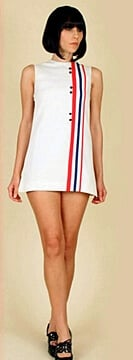Mary Quant designed Mod Fashion
