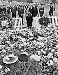 JFK buried at Arlington