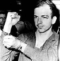 Lee Harvey Oswald in jail