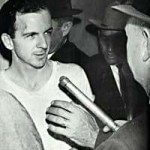 Lee Harvey Oswald is shot