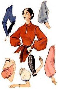 1950s dressy tops