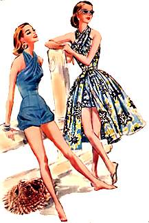 1950s causal clothes