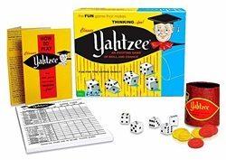 1950s toys - yahtzee
